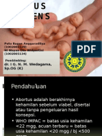Abortus Imminens