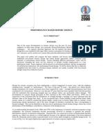 Perfomance Based Seismic Design (MJN Priestley)