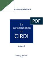 GAILLARD, Emmanuel. La Jurisprudence du CIRDI, vol. 2 (2010)