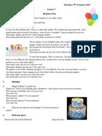 Tw3 L27-Birthday Party