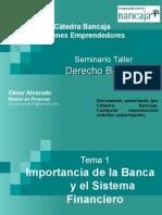 Seminario Taller de Derecho Bancario