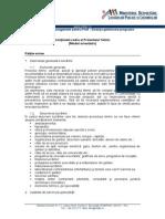 p4vim_model Continut Cadru PT