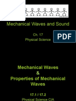 Mechanical Waves and Sound Powerpoint Notes