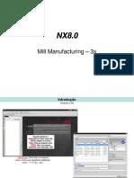 Manual fresamento NX8
