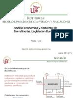 Analisis Economico y Ambiental de Biorrefinerias Legislacion Europea