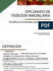 Principios de tasacion inmobiliaria - PUC