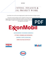 ExxonMobil Project Work