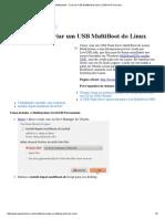 Multisystem - Criar Um USB MultiBoot de Linux _ USB Pen Drive Linux