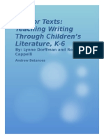 mentor texts packet
