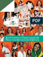 Acolhimento Classificacao Risco Servicos 2009