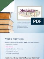 Motivation Study