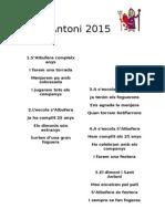 Sant Antoni 2015