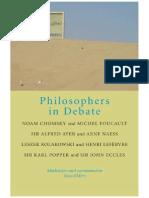Elders, Fons - Philosophers in Debate