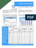 November 2014 Retail Sales Publication