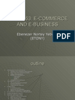 E-commerce And Its Business Model