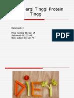 Diet Energi Tinggi Protein Tinggi Gizi II Sp