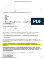 16 Zenoss Core Daemons – Complete List of All ZenOSS Process