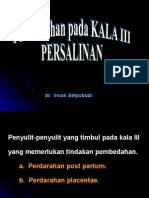 Pembedahan Kala III 2003