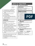 Manual de cámara Panasonic HC-V100_HC-V100M