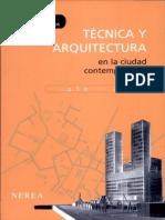 Tecnica y Arquitectura en la Ciudad Comtemporanea..pdf