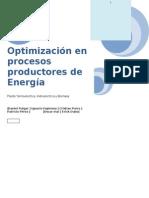 Seminario Proceso - Optimizacion en La Produccion de Energia