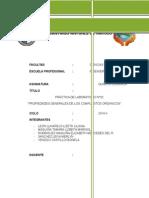 Informe #2 -ORGANICA