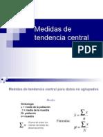 220894999 Medidas de Tendencia Central