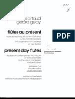ArtaudFlutesAuPresent_1 flute method
