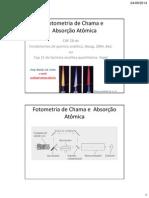 Acotta-AULA 2 Fotometria de Chama e Absorção Atômica