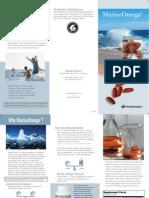 Marine Omega Trifold Brochure