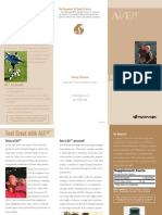 AiE10 Trifold Brochure