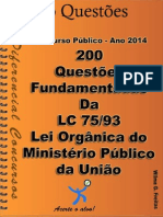 200 questoes fundamentadas lei 75 - 93