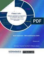 Prirucnik Baze Podataka Microsoft Access 2010