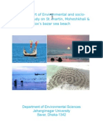 Environmental and socio-economic study on St. martin, Moheshkhali & Cox's bazar sea beach