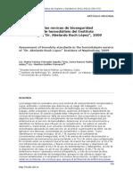 Evaluación de Las Normas de Bioseguridad en El Servicio de Hemodiálisis