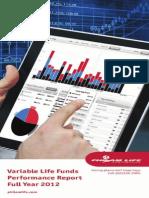 AIA 2012 Philam Life VUL Report Ph