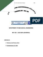 Cadcam Lab Manual