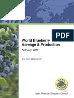 World Blueberry Acreage and Production 2013