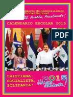 CALENDARIO ESCOLAR 2015