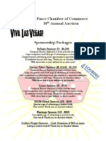 VLV Auction Sponsorship Packages