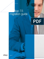Xenapp 75 Migration Guide