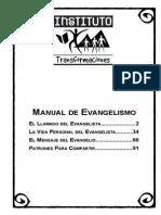 Manual Evangelismo