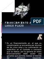 Financiamiento a Largo Plazo (1)