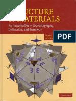 De Graef Structure of Materials