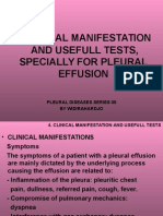 5. Clinical Manifestation and Usefull Test