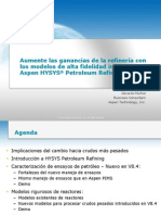 Aspen HYSYS Petroleum Refining Spanish Presentation - FINAL
