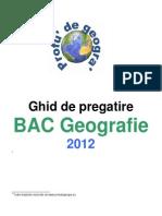 Geografie Ghid de Pregatire Bac