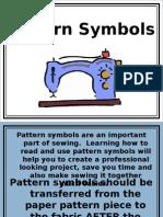 pattern symbols  grainlines