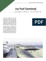 Yokohama Port Terminal Folded Steel Plate Structure