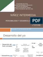 Niñez Intermedia papalia.